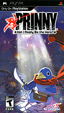 jaquette PSP Prinny Can I Really Be The Hero