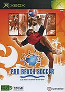jaquette Xbox Pro Beach Soccer