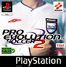 jaquette PlayStation 1 Pro Evolution Soccer 2