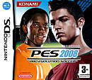 jaquette Nintendo DS Pro Evolution Soccer 2008