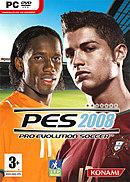 jaquette PC Pro Evolution Soccer 2008
