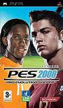 jaquette PSP Pro Evolution Soccer 2008