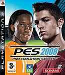 jaquette PlayStation 3 Pro Evolution Soccer 2008