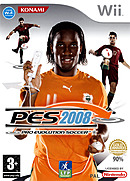 jaquette Wii Pro Evolution Soccer 2008