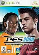 jaquette Xbox 360 Pro Evolution Soccer 2008