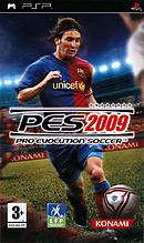 jaquette PSP Pro Evolution Soccer 2009