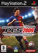 jaquette PlayStation 2 Pro Evolution Soccer 2009
