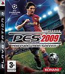 jaquette PlayStation 3 Pro Evolution Soccer 2009