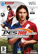 jaquette Wii Pro Evolution Soccer 2009