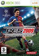 jaquette Xbox 360 Pro Evolution Soccer 2009