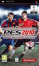 jaquette PSP Pro Evolution Soccer 2010