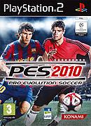 jaquette PlayStation 2 Pro Evolution Soccer 2010