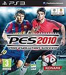 jaquette PlayStation 3 Pro Evolution Soccer 2010