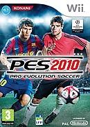 jaquette Wii Pro Evolution Soccer 2010