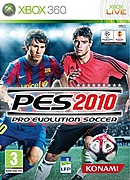 jaquette Xbox 360 Pro Evolution Soccer 2010
