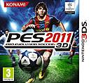 jaquette Nintendo 3DS Pro Evolution Soccer 2011 3D