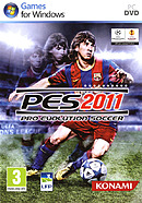 jaquette PC Pro Evolution Soccer 2011
