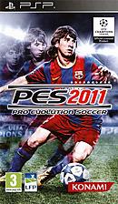 jaquette PSP Pro Evolution Soccer 2011