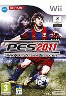 jaquette Wii Pro Evolution Soccer 2011