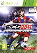 jaquette Xbox 360 Pro Evolution Soccer 2011