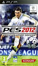 jaquette PSP Pro Evolution Soccer 2012