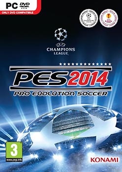 jaquette PC Pro Evolution Soccer 2014