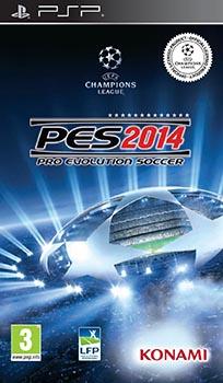 jaquette PSP Pro Evolution Soccer 2014
