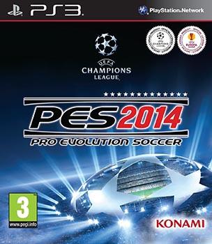 jaquette PlayStation 3 Pro Evolution Soccer 2014