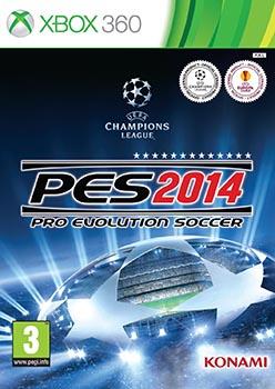 jaquette Xbox 360 Pro Evolution Soccer 2014