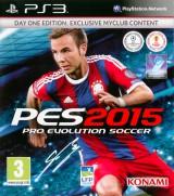 jaquette PlayStation 3 Pro Evolution Soccer 2015