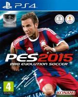 jaquette PlayStation 4 Pro Evolution Soccer 2015
