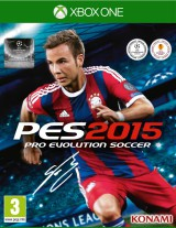 jaquette Xbox One Pro Evolution Soccer 2015