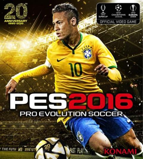 jaquette PC Pro Evolution Soccer 2016