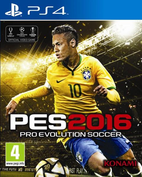 jaquette PlayStation 4 Pro Evolution Soccer 2016