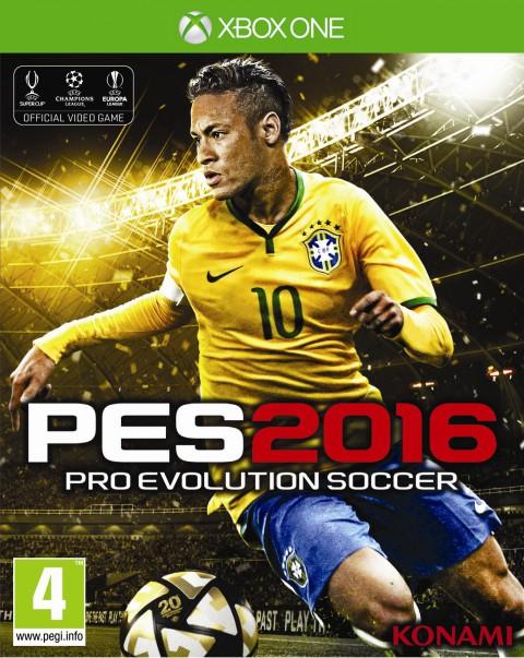 jaquette Xbox One Pro Evolution Soccer 2016