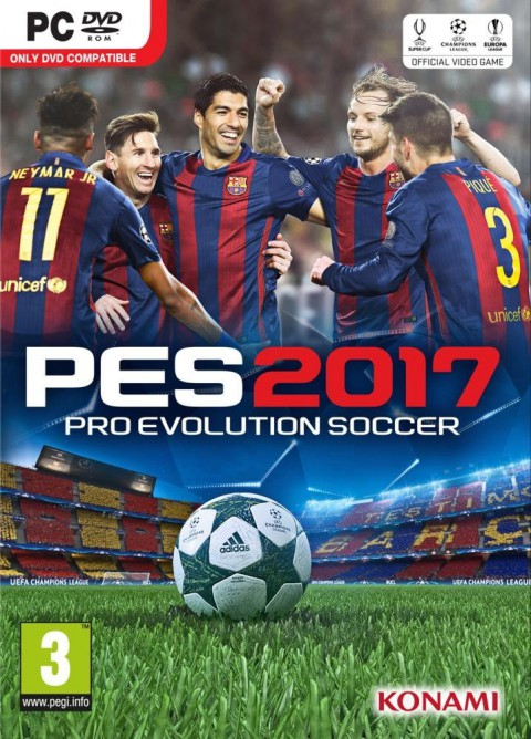 jaquette PC Pro Evolution Soccer 2017