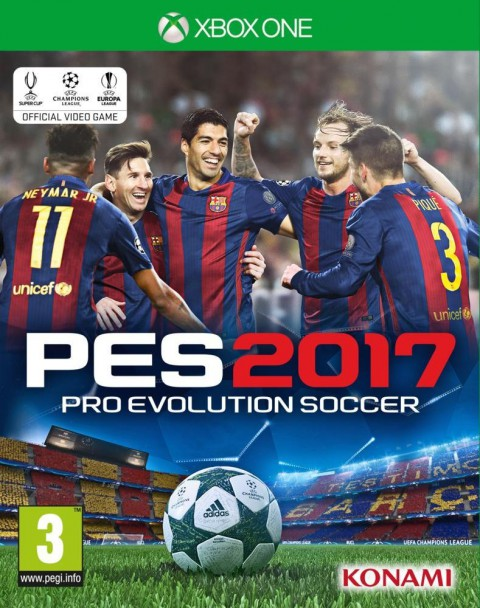 jaquette Xbox One Pro Evolution Soccer 2017
