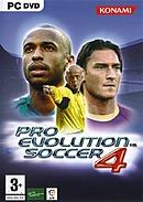 jaquette PC Pro Evolution Soccer 4