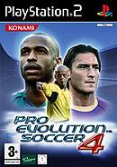 jaquette PlayStation 2 Pro Evolution Soccer 4