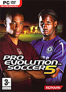jaquette PC Pro Evolution Soccer 5