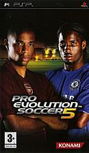 jaquette PSP Pro Evolution Soccer 5