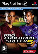 jaquette PlayStation 2 Pro Evolution Soccer 5