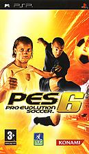 jaquette PSP Pro Evolution Soccer 6