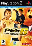 jaquette PlayStation 2 Pro Evolution Soccer 6