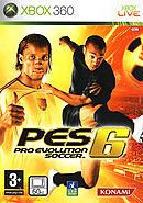 jaquette Xbox 360 Pro Evolution Soccer 6