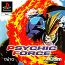 jaquette PlayStation 1 Psychic Force