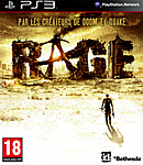 jaquette PlayStation 3 Rage