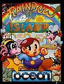 jaquette Amstrad CPC Rainbow Islands