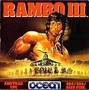 jaquette Amstrad CPC Rambo III