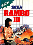 jaquette Master System Rambo III
